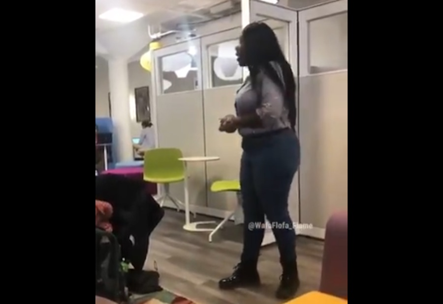 U. of Virginia responds after video shows black woman saying 'too many white people' in building