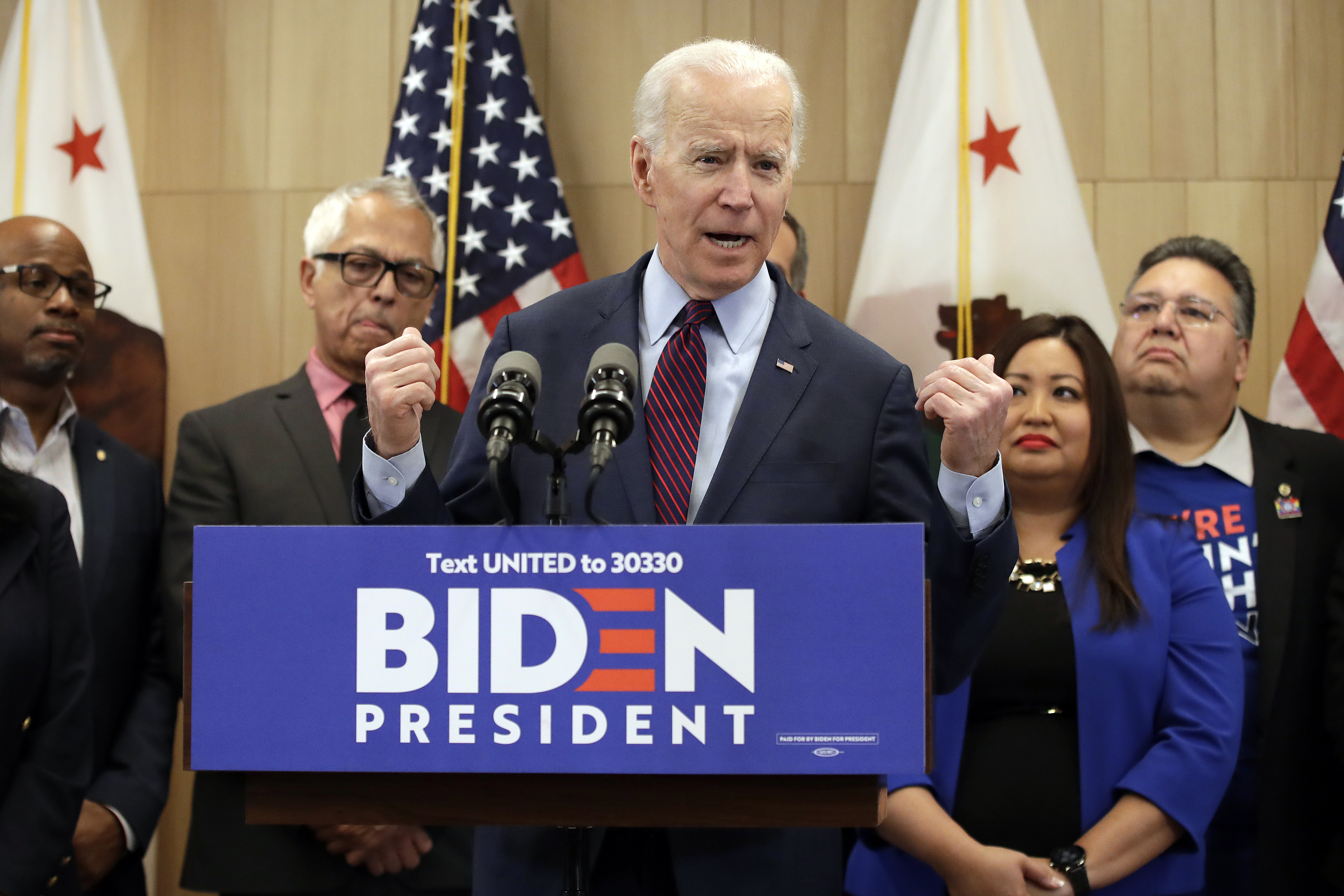Editorial Joe Biden Gets His Second Wind On Super Tuesday Washington Times