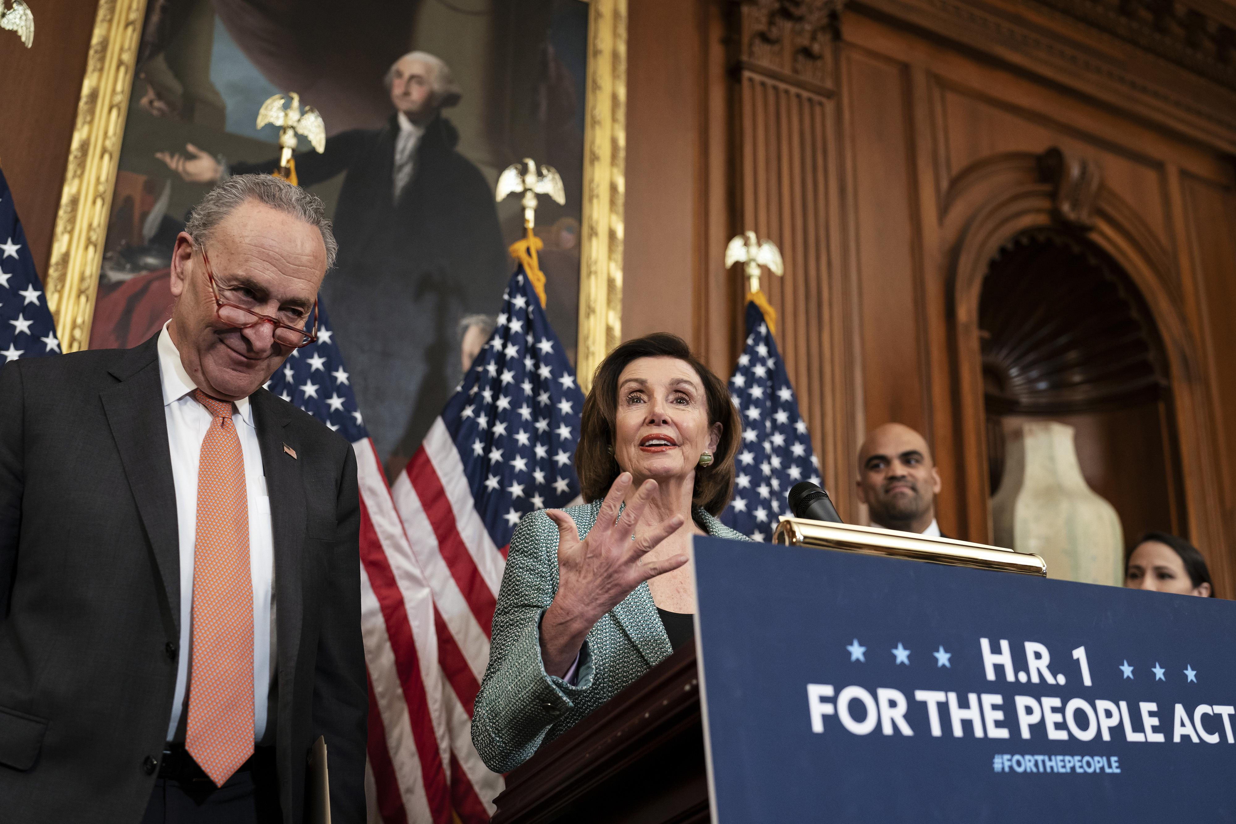 Pelosi and Schumer use the threat of the coronavirus crisis to push drug  price-control legislation - Washington Times