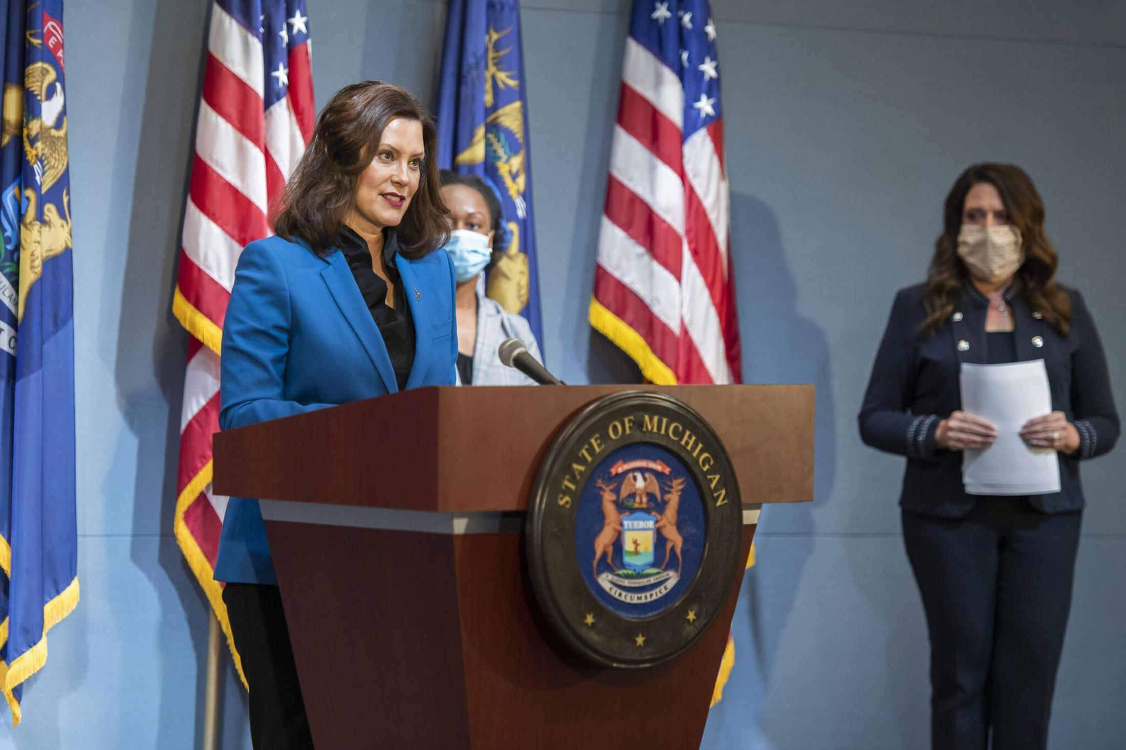 Gretchen Whitmer, Michigan governor, facing lawsuit over 'drastic ...