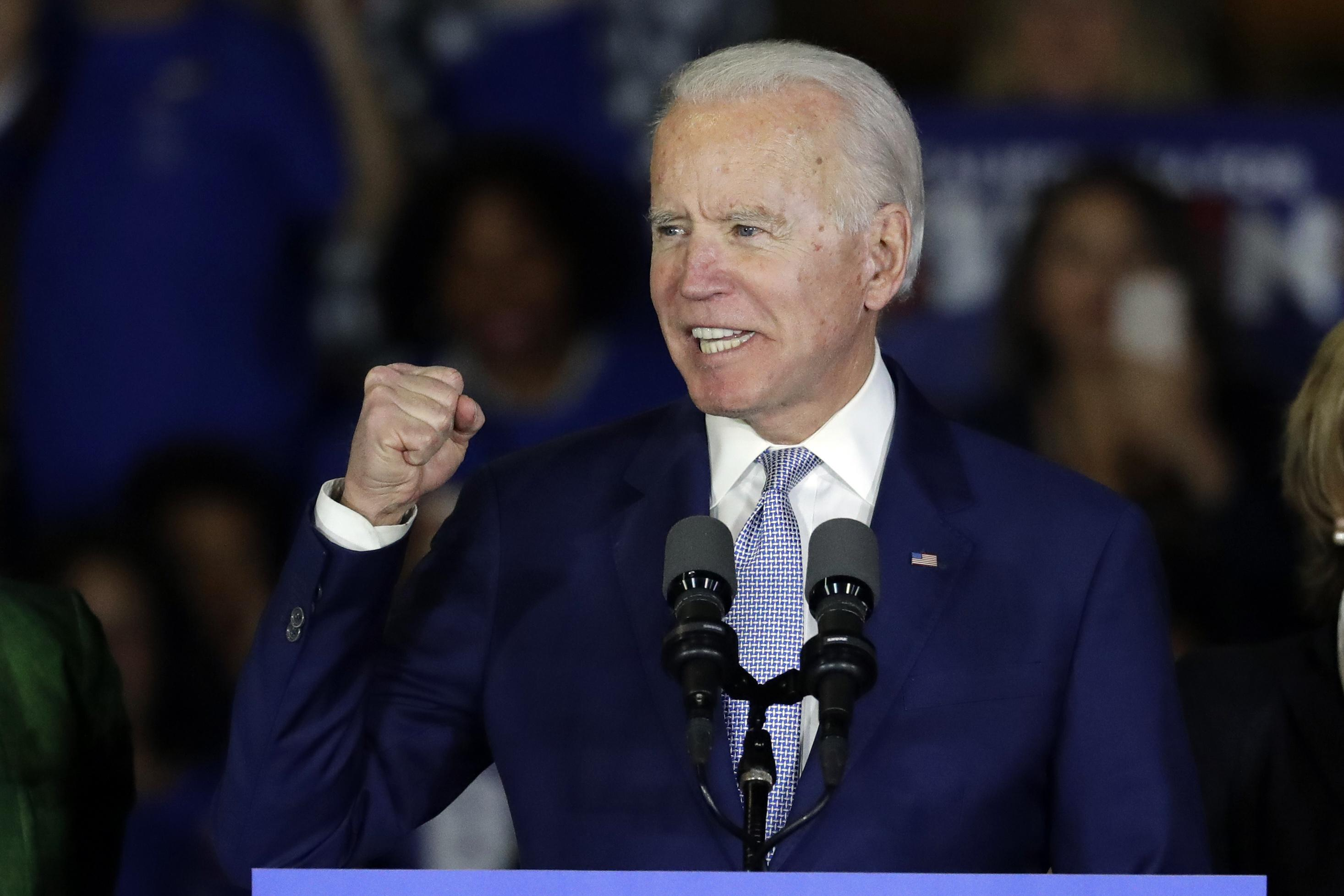 Joe Biden Blasts Don Trump Jr S Sick Pedophile Joke He Is His Father S Son Washington Times