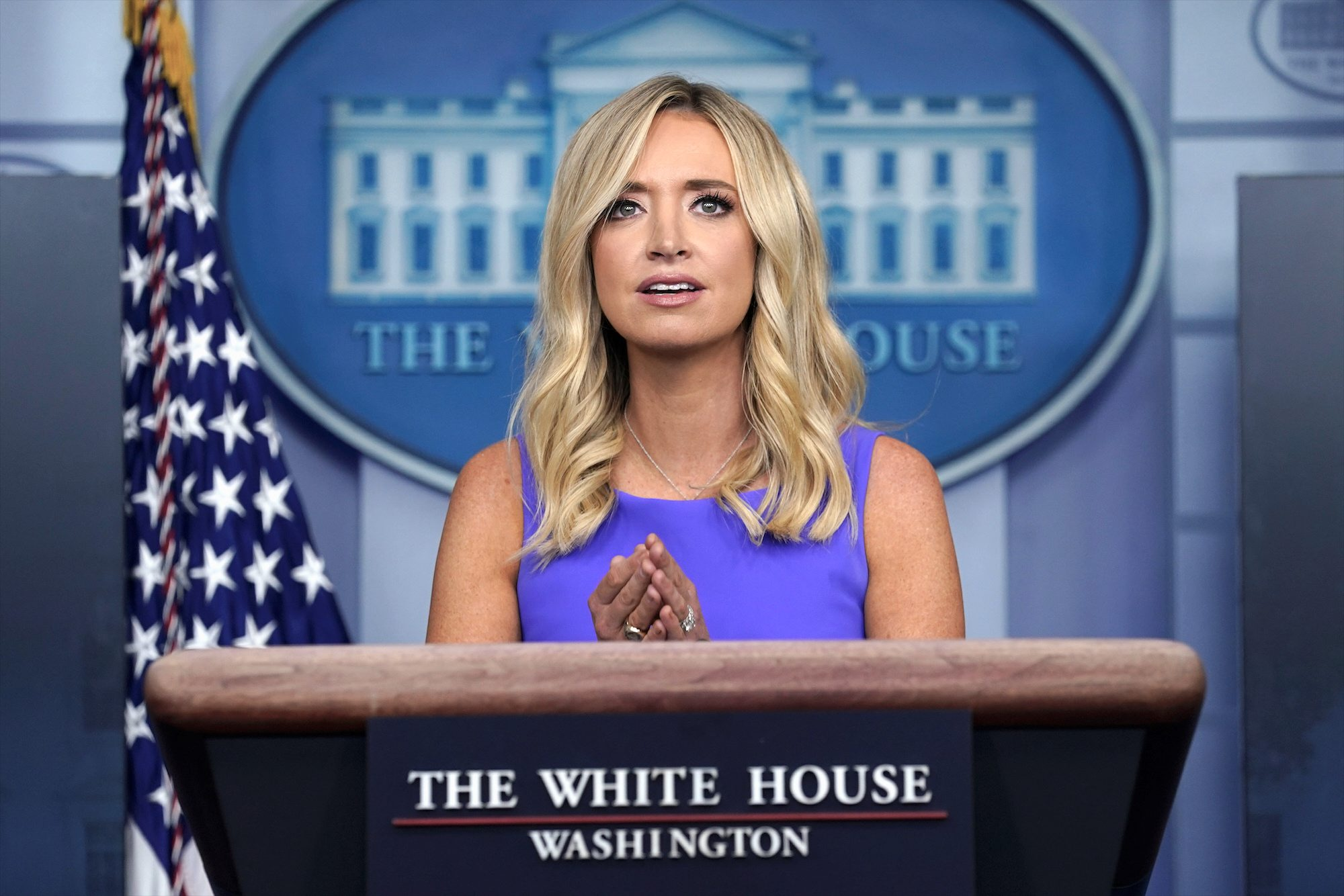 Inside The Beltway Glorious Kayleigh Mcenany Receives Praise As White House Press Secretary Washington Times