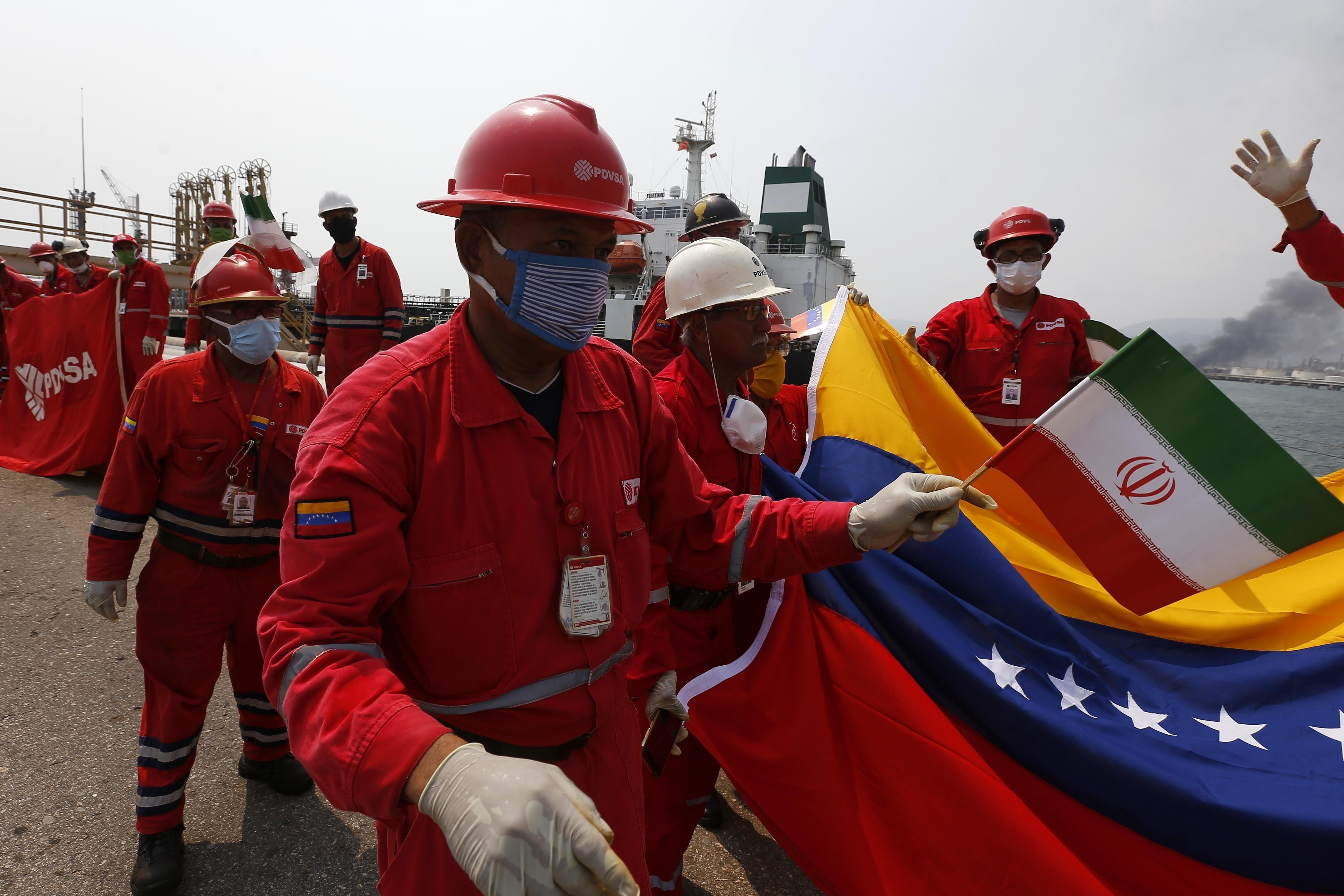 U S Sanctions 5 Iranian Tanker Captains For Gasoline Delivery To Venezuela Washington Times