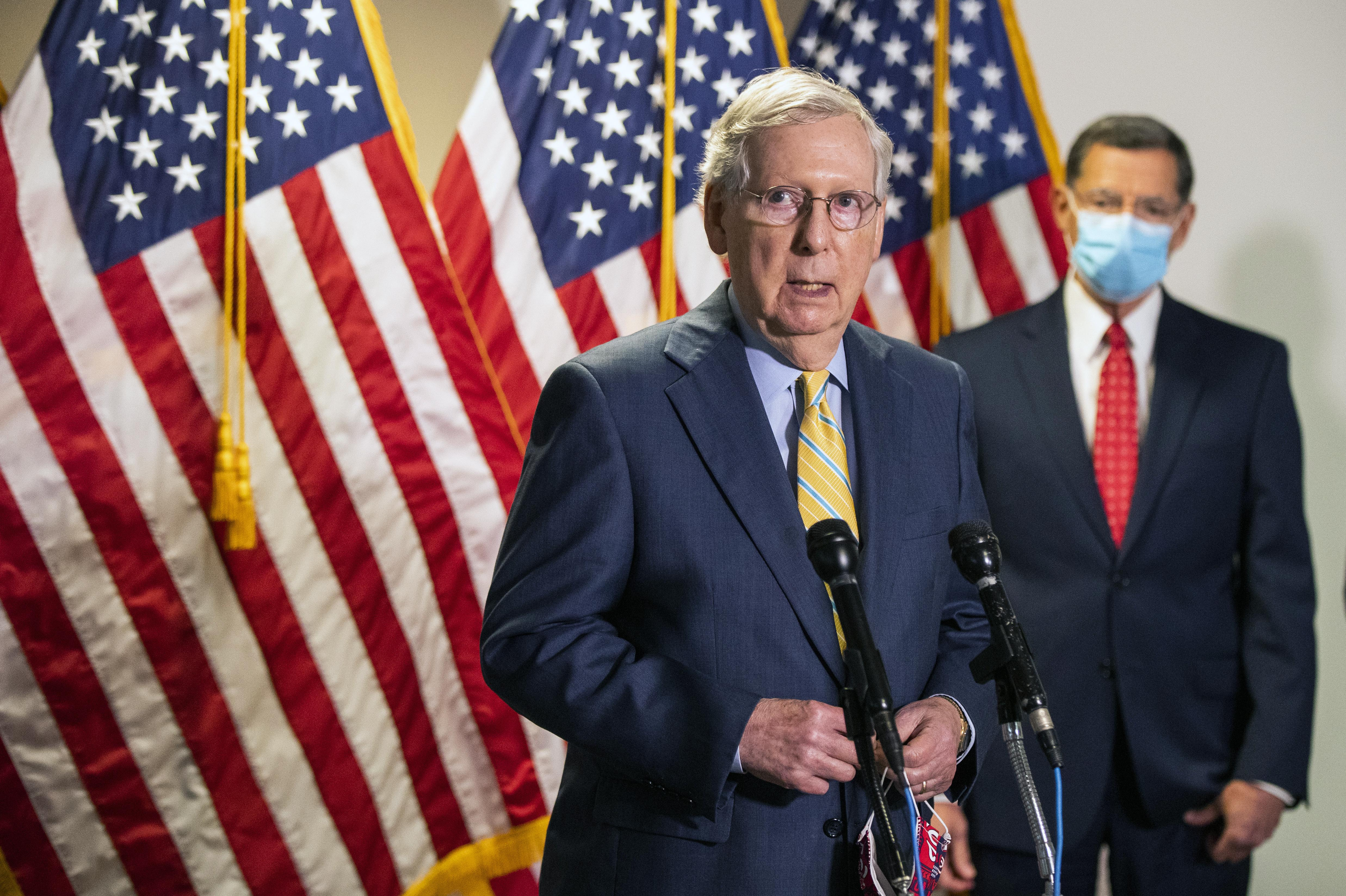 Mitch Mcconnell Covid 19 Bill To Focus On Kids Jobs And Health Care More Checks To Families Washington Times