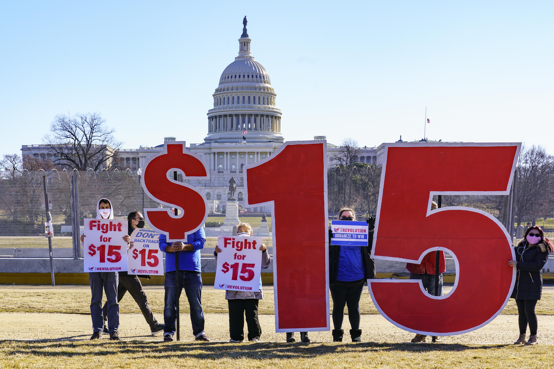 Biden urges Senate Dems to rally behind $1.9T virus bill - Washington Times
