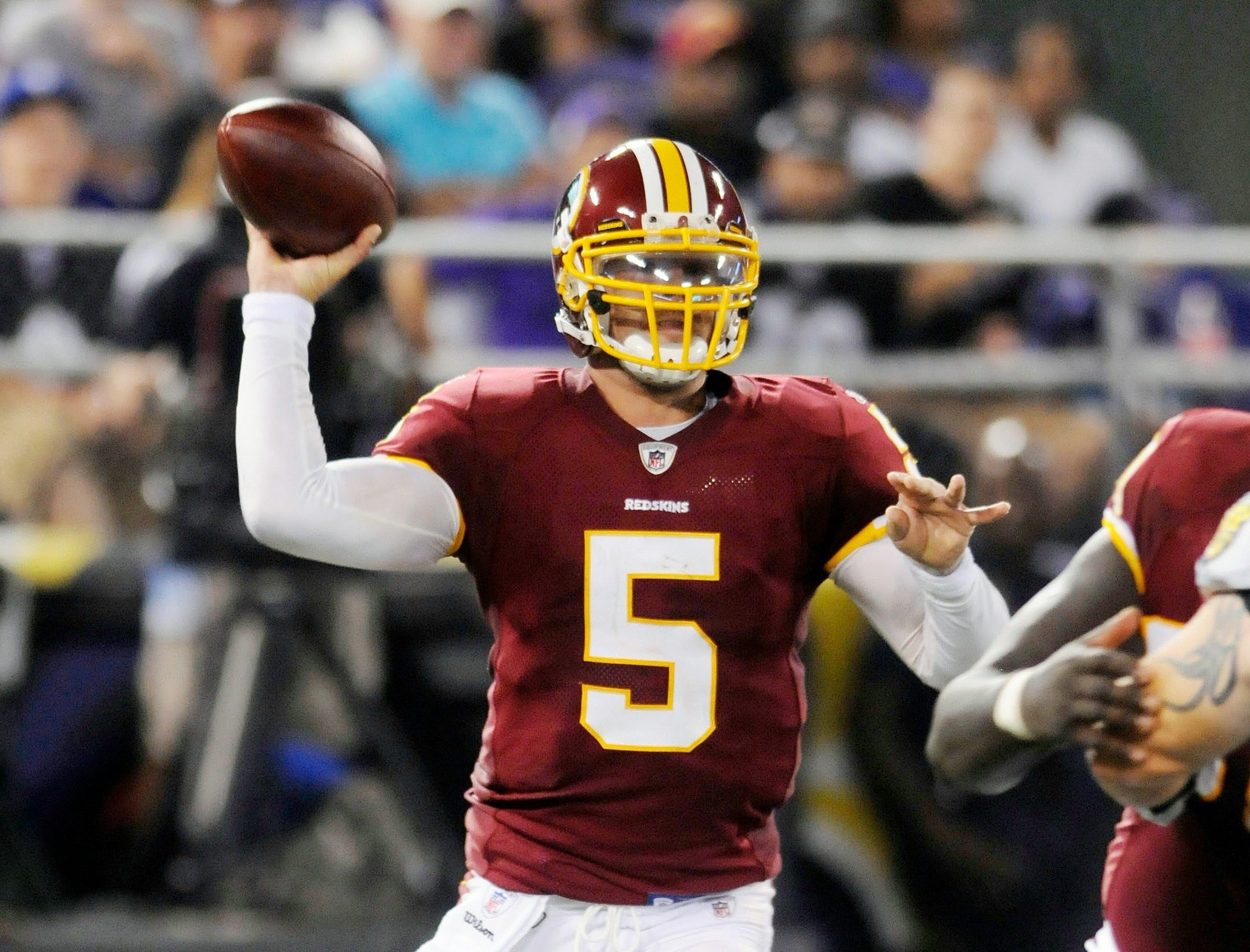 LOVERRO: Colt Brennan offers cautionary tale over Redskins' preseason hype  - Washington Times